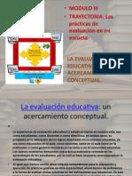 La Evalucion Educativa Unh Acercamiento Conceptual