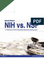 NIHvsNSF Comparison Special Report