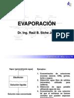 Clase 1 Evaporadores