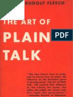 Flesch the Art of Plain Talk