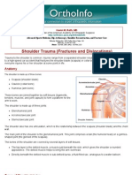 shoulder trauma fractures and dislocations-orthoinfo - aaos