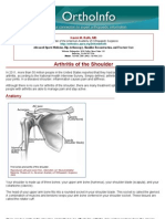arthritis of the shoulder-orthoinfo - aaos