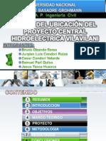 Plano de Ubicacion Hidroelectrica Vilavilani. FINAL