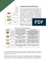 Fuentes+de+Carbohidratos