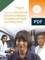 Examiners Reports IGC2 December 2012 IGC2