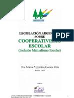 25 Fasciculo Doc Legislacion Argentina Coop Escolar