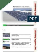 Seguidor Solar Cubierta-Catalogo