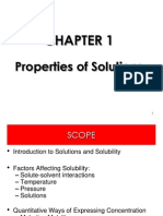 Chapter 1 Properties of Solution for Lecturers (2)