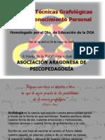 Curso de Tecnicas Grafologicas Para El Conocimiento Personal
