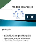 5.7 Modelo Jerarquico