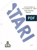Atari 2600 VCS Domestic Field Service Manual