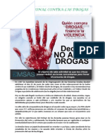 Dia Nacional Contra Las Drogas