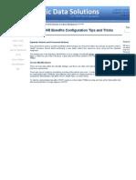 SAP HR - Benefits Configuration