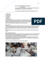 A Factory Case Study