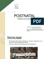 Postnatal 6 Meses