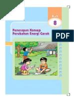 8. Penerapan Konsep Perubahan Energi Gerak