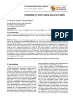 Two Aspect Authentication System Using Secure Mobile