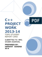 C   PROJECT
