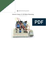 Adafruit Arduino Lesson 15 Dc Motor Reversing