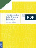 Manejo Práctico de la Urgencia Quirúrgica - Manual del R1