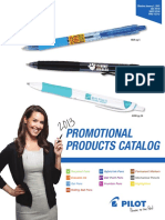 Pilot Promo Products Cat