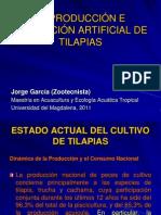 REPRODUCCIÓN E INCUBACIÓN ARTIFICIAL DE TILAPIAS