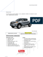 1. Mazda Bt50 2.2 Mt 4x4 d2 Std