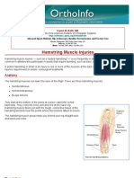 hamstring muscle injuries-orthoinfo - aaos