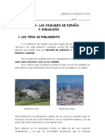 4. Las ciudades de España y de Andalucía