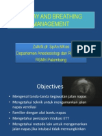 Dr. Zulkifli, Sp.an, Airway and Breathing Management