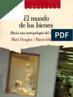 Douglas, Mary - El Mundo de Los Bienes(2)