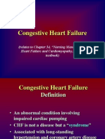 Chapter 34CongestiveHeartFailure