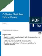 Brocade Switch 11-M8-C Series Fabric Rules