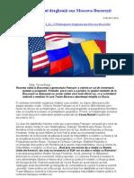 Washingtonul dezgheaţă axa Moscova - Bucuresti
