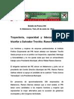 Trayectoria, capacidad y liderazgo harántriunfar a Salvador Treviño