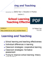 Learn Teach 1
