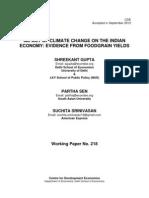 economics and climate change