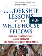 Leadership Lessons WhiteHouse
