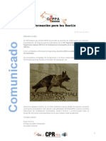 RealCEPPA Comunicado
