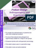 Anthropometrics and Ergonomics