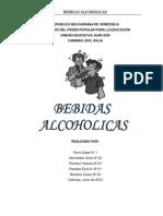 Bedidas Alchoholicas