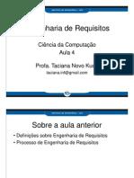 ER-aula04 - Definições e taxonomias de Requisitos - ate req funcionais - dada18abril2013