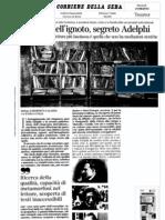Roberto Calasso dialoga con Paola Italia a proposito del costruire una collezione di libri