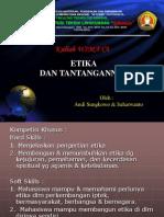 4.Etika Dan Tantangannya
