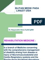 Klh. Rehabilitasi Medik Pada Lanjut Usia