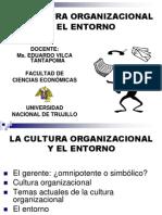 3. La Cultura Organizacional y Entorno