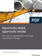 JP Morgan Research Report - Opportunity Seized Opportunity Missed