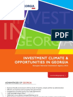 1-Investment Climate Opportunities in Georgia