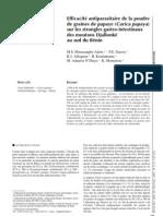 Parasite Intestinaux