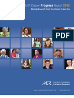 AARC Cancer Progress Report 2012
